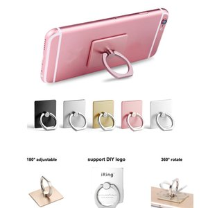 Universal Phone Finger Ring Holder 360 Degree Mobile Phone Grip Stand Holder Lazy Buckle For iphone 11 Pro Max XS Smartphone Bracket