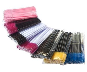 Disposable Makeup Eyelash Curler Eyelash Brush 50 Pcs Pack 100 Pcs Pack Currently Available Multi-Color Optional