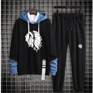 Men's Hoodies Gym TrackSuit Sport Jacket Suit Set Trousers Jogging Bottom Top Sweatsuits Blazer Train track suit Walk Jogger