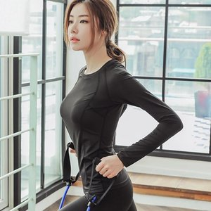 Women Gym Femme Jersey Running T Shirt Long Sleeve Yoga Shirts Sport Top Fitness Yoga Top Gym Sports Wear M-2XL Loose