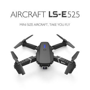 Лучшие продажи E525 Mini Drone 4K HD широкоугольный двойной камеры 1080P WiFi визуальный позиционирующий рост Держите RC Drone Следите за мной RC Quadcopter