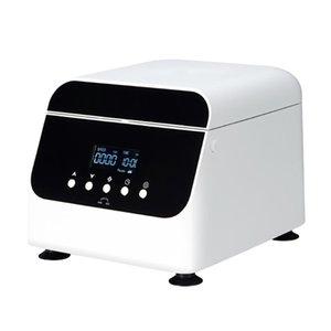 100-240 فولت العرض الرقمي الكهربائية منخفضة السرعة الطرد المركزي صغير 4000 دورة في الدقيقة مختبر الدهون فاصل مصل