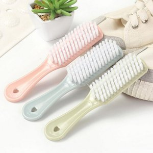 Multi-functional Shoes Brush Sneaker Boot Shoes Brushes Cleaner Strong Plastic Household Laundry Cleaning Accessories Clothing Brush AHD3104