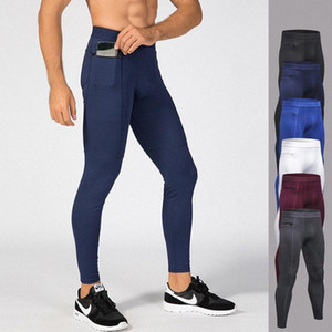 Aipbunny 2020 Compression Workout Pants Men Sports Tights Fitness Running leggins Jogging Trousers Gym Slim Pants Leggings