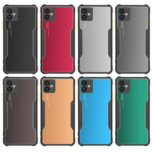 Shockproof Armor Kickstand Phone Case With Finger Magnetic Ring Holder Anti-Fall Cover For iPhone 12 11 Pro MAX XR XS MAX 7 8Plus