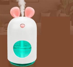 USB Hava Arıtma Atomizer Fare 250 ml Masaüstü Araç Yaratıcı Sessizlik Su Kaynağı Enstrüman Sprey Nem Nemlendirici 23YF M2