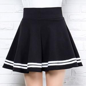 Inverno ed Estate Stile Brand Donne Rok Elastic Faldas Ladies Midi Girl Girl Mini Breve Rokken Saia Feminina