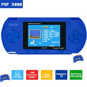 PVP 3000 핸드 헬드 게임 플레이어 내장 89 게임 휴대용 비디오 2.8 ''LCD 8 비트 게임 패밀리 미니 비디오 게임 콘솔 LJ201204