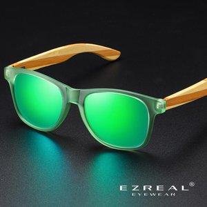Ezreal Hommes / Femmes Mode SunglassesOutdoor Activités de conduite Lunettes de soleil en bois polarisants