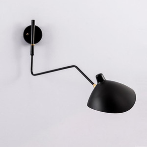 Spider Serge Mouille Wall Lights Nordic Bedroom Industrial Retro Wall Lamp Creative Simple Living Room Led Light Fixtures
