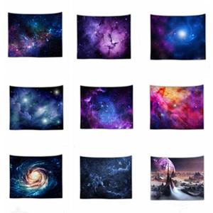 Skidry Sky Star Tapisserie 3D Mur imprimé Pension Photo Bohemian Plage Serviette Table Couvertures Tapis de nuit Incroyable Tapisserie Nuit Yhm502