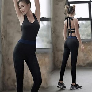 Women Sport Suits sexy One Piece Sport Wear Yoga Sets Women Gym Clothes Set Fitness Legging Ballet Dance Clothes