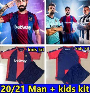 20 21 Levante UD Soccer Jersey 2020 2021 Rochina Levante A.J.Morales Roger MS. BARDHI J Campana Futbol Camisas Camisetas Camisetas Camisa Kit