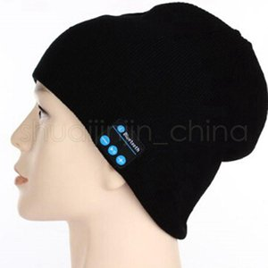 Bluetooth Music Knitted Hat Soft Warm Wireless Speaker Receiver Outdoor Sports Smart Cap Headset Beanies Hat TTA1389-14