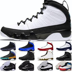9s Chaussures de basket-ball pour hommes 9 UNC Dream It Do It Bred