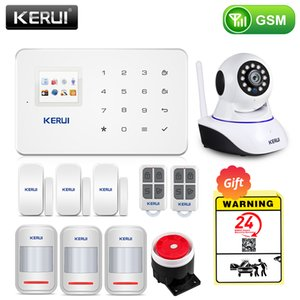Kerui Wireless Home GSM Security System System El control de la aplicación con el detector de movimiento automático Sensor Burglar Smart Alarm System Y1201