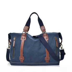 Women Canvas Bag Fashion Shoulder Bag Travel Luggage Bag Quality Handbag Lady Pouch Duffle Handbag Free Shipping