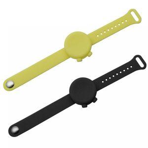 Adult Kids Hand Sanitizer Silicone Dispenser Bracelet Travel Portable Reusable Empty Liquid Container Wristband Sanitizing Gel