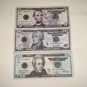 9Nuow Dollar Simulation Simulation Paper Money Party Toy Game Game token County Valuta 48 ore Consegna veloce