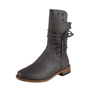 Women Combat Shoes Fashion Platform Gothic Shoes Black Leather Plush Short Boots Women Fashion White Warm Fur Ankle Boots Big Size 34-43