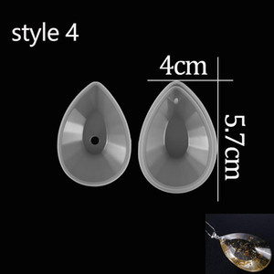 9 Style With Hole Pendant Crystal Silicone Mould Diy Epoxy Resin Necklace Pendant Mold For Craft Jewelry Making Findings Supplie sqcMqa