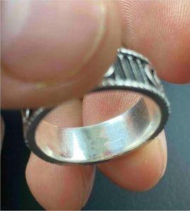 Moda 925 Ayar Gümüş Kafatası Yüzük Moissanite Anelli Bague Erkek Ve Kadınlar için Parti Düğün Nişan Takı Severler Hediye Kutusu ile 013