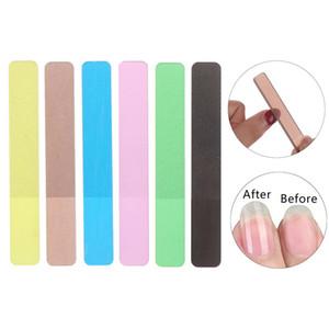 10styles Pro Nano De Vidro Arquivo de Prego Transparente Lixamento De Moagem De Moagem Nail Art Manicure Não Hurt no Corpo Para O Bebê Adulto