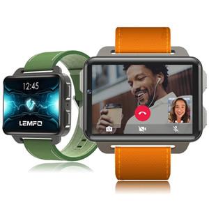 LEMFO LEM4 برو 2.2 بوصة عرض 3G الذكية ووتش أندرويد 5.1 1200 مللي أمبير بطارية ليثيوم 1 جيجابايت + 16 جيجابايت واي فاي تأخذ شريط فيديو قابل للاستبدال حزام