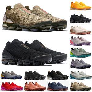 2021 MOC 2 Lacess Reacs 2.0 Zapatos de running para hombre Triple Designer Designer Des Chaussures Mujeres Zapatillas de deporte Fly White Knit Cojín Entrenadores Zapatos