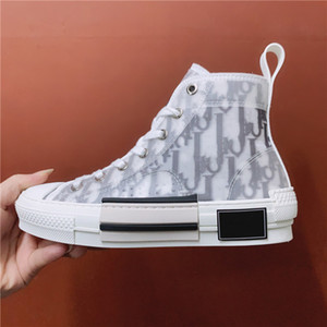 40% SCONTOP Quality B 22 23 Oblique High Top Bee Embroidery Technology Sneakers Uomini o donne Designer Designer Designer Freeshipping