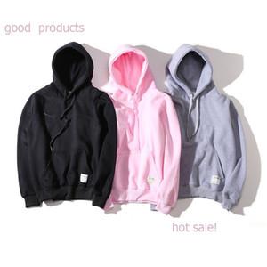 Neue Mode Hoodie Männer Frauen Sport Sweatshirt Asiatische Größe S-XXL 5 Farben Baumwollmischung Dicker Hoodie Pullover Langarm Streetwear