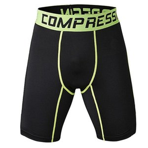 Men's Outdoor Sports Gym Compression Wear Under Base Layer Shorts Pants Athletic Tights 3Colors