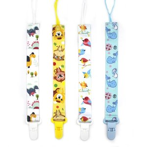Baby Teether Pacifier Clip Chain Polyester Clip Pacifier Holder Braided Clip Nipple Holder Infant Baby Feeding Soother Chain VTKY2063