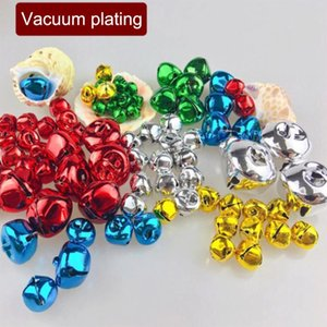 200pcs Mini Xmas Tree Hanging Bell Jingle Bells Pendants Home Festival New Year Holiday DIY Jewelry Bells Party Supplies