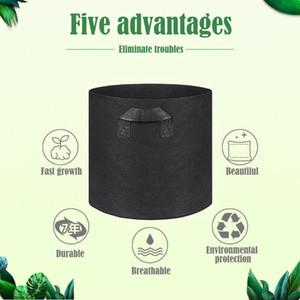 Plant Grow Bags Home Garden Garden Pot Pot Sacchetti di verdure Growerhouse Grower Bads Idratante Borsa da giardino verticale DHE3495