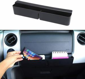 CO-Pilot Center Console Storage Box Организатор Лоток ABS Для Ford F150 2009-2014 Автомобильные аксессуары для интерьеров Black