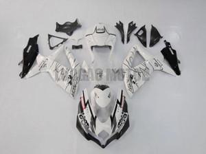 Injection Fairings kit for white black SUZUKI 2008 2009 2010 bodywork GSXR600 750 08 09 10 K8 GSXR 600 K8 K9 motorcycle fairing body kits