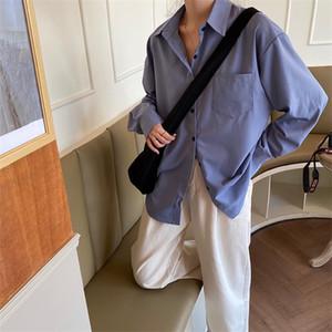 Chiffon Loose Air Conditioner Shirt Women's Shirts Ulzzang Japanese Kawaii Vintage Female Korean Harajuku Cute Clothes For Women