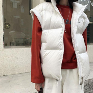 2020 New Winter Fashion Ladies Vest Casual Women Waistcoat Slim Elegant Thicken Warm High Quality Female Gilet