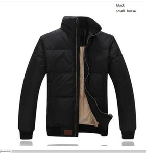 2021 New USA Paul down jacket male American embroidery fashion jacket thick warm men's white duck down slim jacket