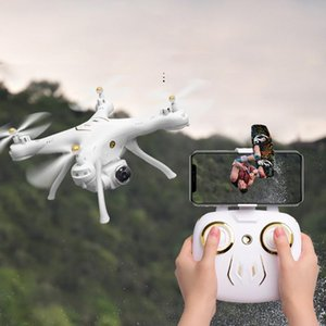 Attop W9 WiFi GPS 1080P Caméra Drone Altitude Mode Mode Headrowless Quadcopter Droncopter Porte-hélice pliable # E25