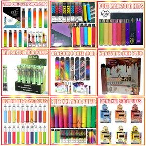 Neue Kangvape Onee-Stick Plus Ezzy Super Puff Flex Max IJJOY LIO 1500 1600 1800 2000 2200 2800 Taucher Luftbar Lux Bang XXL Einweg-Vape-Stift