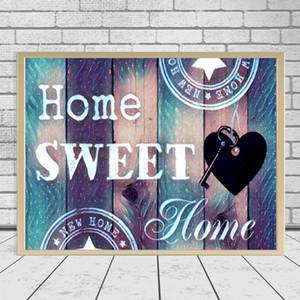 Diamond Mosaic Still Life 3D DIY Diamond Painting Sweet Home Casa completa Decoración de la Decoración Inicio Foto de Rhinestone