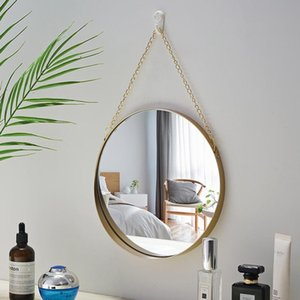 "10"" Nordic Sunglasses, Geometric Round, Phnom Penh, Wall Mount Mirror Mirror Salon Wall Art Toilet Bathroom T200114"