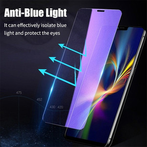 Anti Blue Ray Light Tempered Glass Screen Protector for IPhone 11 12 Pro Max XS XR X 8 7 6 6S Plus SE Eye Screenprotector Film