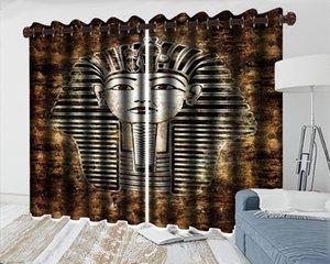 Child Bedroom Blackout Rideau 3D Rideaux Pliants Rideaux Européenne Déesse Salon Chambre à coucher à coucher magnifiquement décorée 3D Rideaux