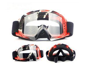Açık Spor Ekipmanları Moda Gözlük Erkekler Ve Kadınlar Motosiklet Motosiklet Çapraz Ülke Sürme Gözlük Kayak Rüzgar Geçirmez Gözlük Rider Glasse