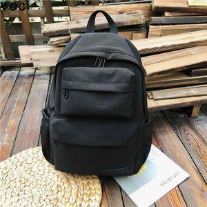 Рюкзак HBP сплошной цвет для женщин водонепроницаемый нейлоновый Multi Pocket путешествия рюкзаки большой 2020capity School для подростков