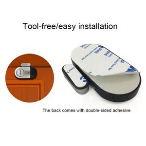 Sıcak Satış Kablosuz Kapı Pencere Manyetik Sensör Dedektörü Alarm Uyarısı Smart Home House Güvenlik için Siren