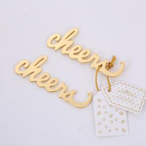Liga Garrafa de Cerveja Opener Casamento Presente De Retorno Cheers Em forma de abridores de ouro banhado novo padrão venda quente 1 8TB J2